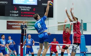 Российская волейбольная суперлига. Мужчины. 2-ой тур. Прикамье 3:2 Газпром-Югра