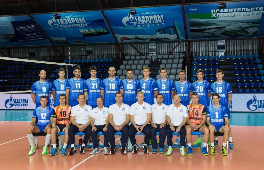 Волейбольный клуб Газпром-Югра состав команды