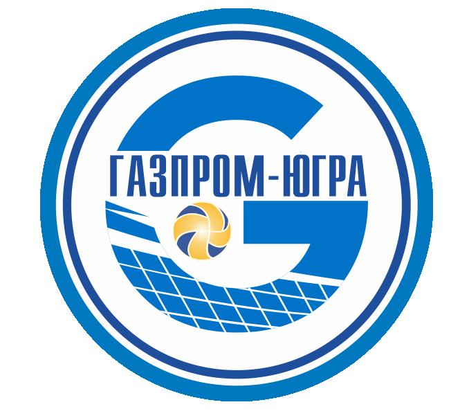 Логотип волейбольного клуба Газпром-Югра Сургут