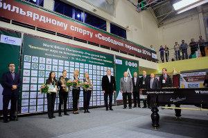 Итоги чемпионата мира по бильярду свободная пирамида 2014 в Ханты-мансийске