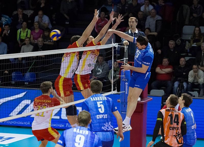 Газпром Югра Губерния волейбольная Суперлига