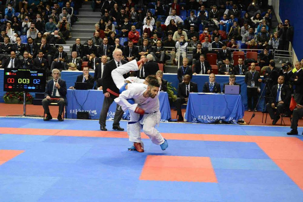 Open-de-Paris 2015 карате турнир Париж