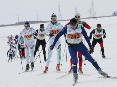 Югорский лыжный марафон в Ханты-Мансийске 2015