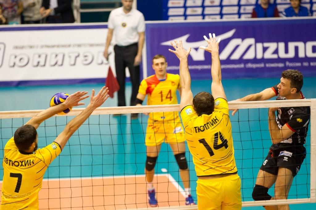Югра Самотлор Кузбасс Кемерово волейбол январь 2015