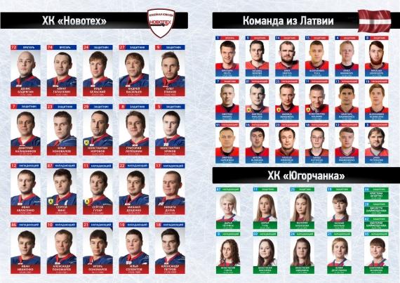 хк Новотех и сборная Латвии