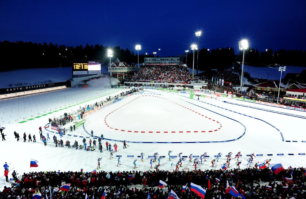 Биатлонный центр Ханты-Мансийск