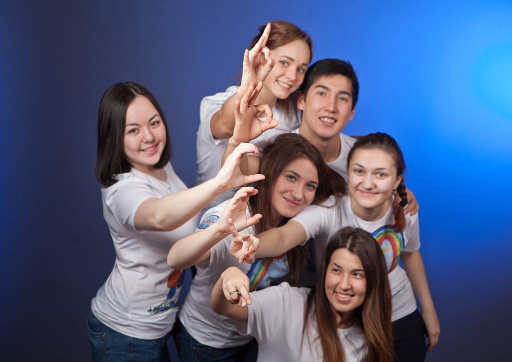 Волонтеры Сурдлимпийских игр Ханты-Мансийск