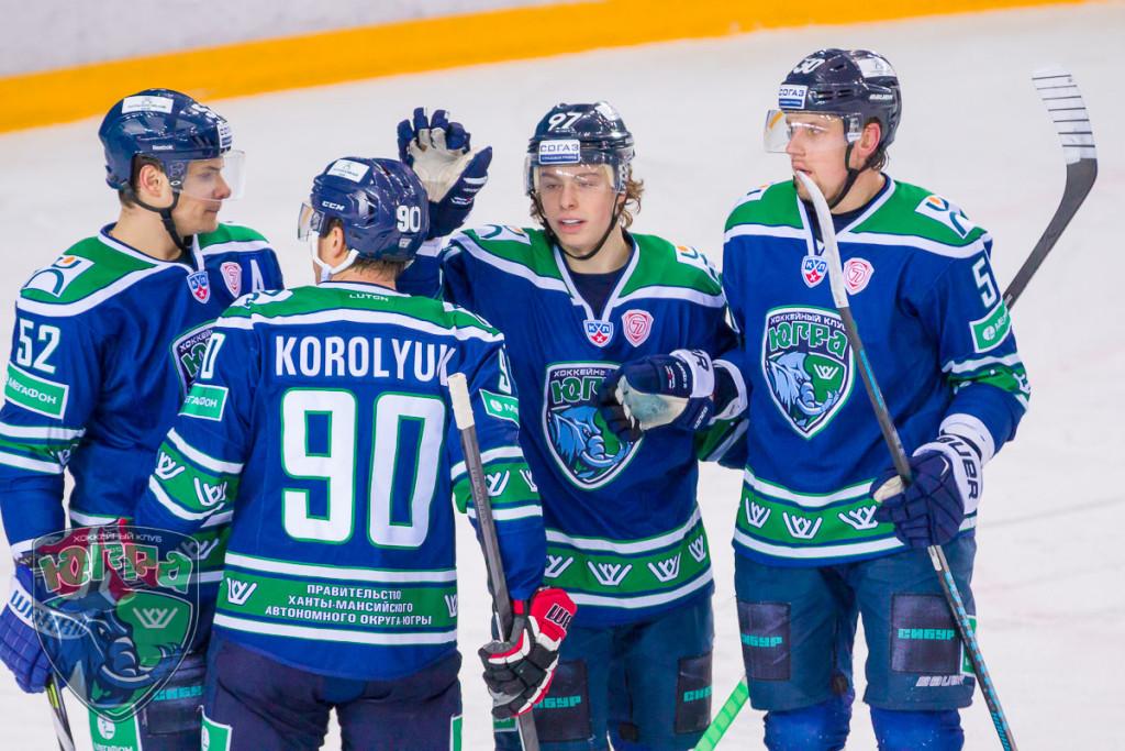 Игроки Югры Никита Гусев