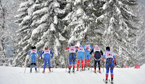 Лыжные гонки Приобье
