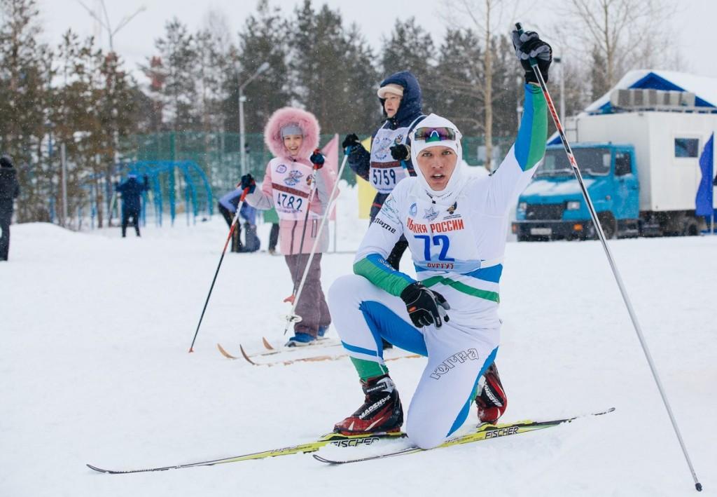 Сургут лыжные гонки дети