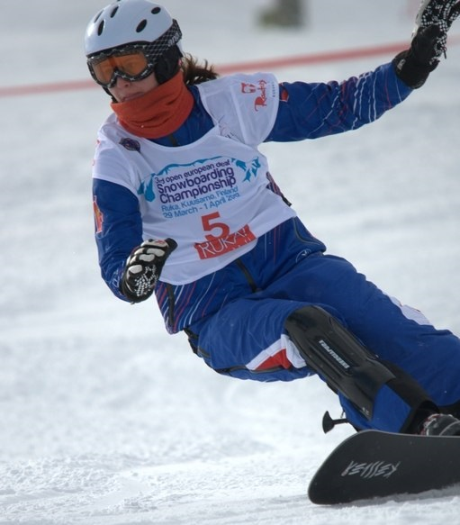 Сурдлимпийские игры сноуборд