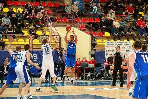 Университет Югра- Динамо Москва баскетбол