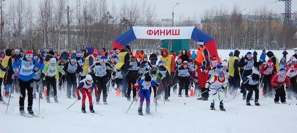 Спринтерская эстафета Нижневартовск