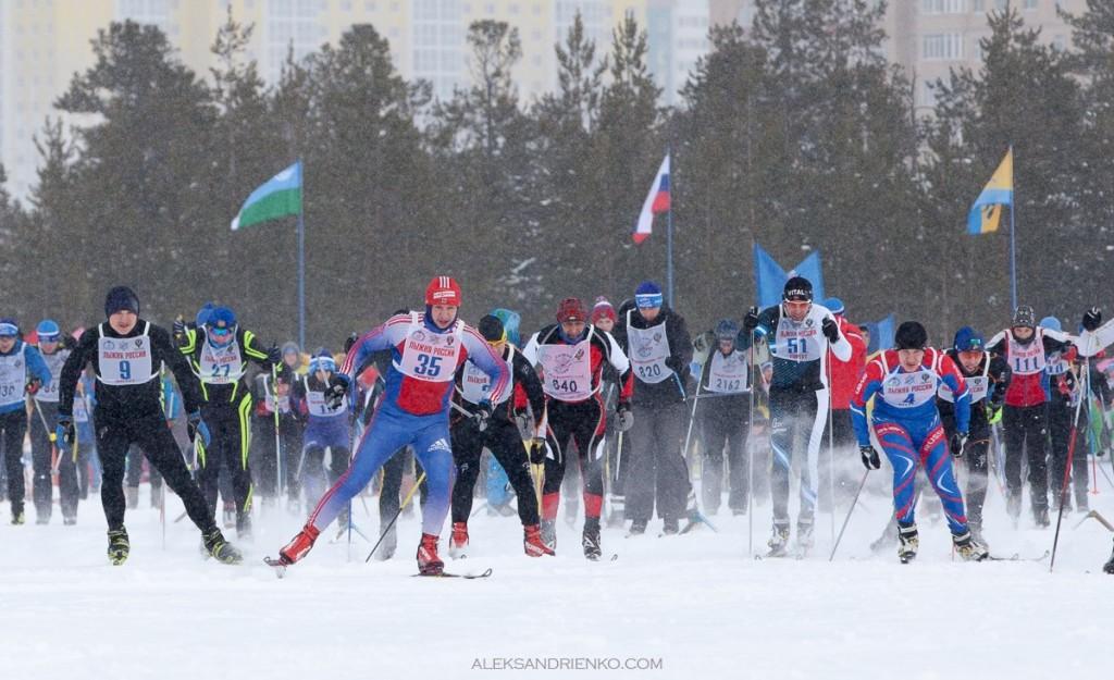 Лыжня России 2015 в Сургуте