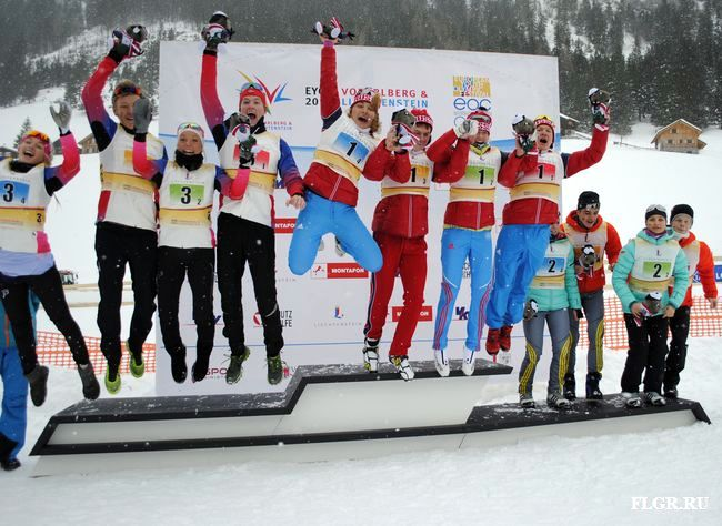 Лыжи Европейский юношеский олимпийский фестиваль