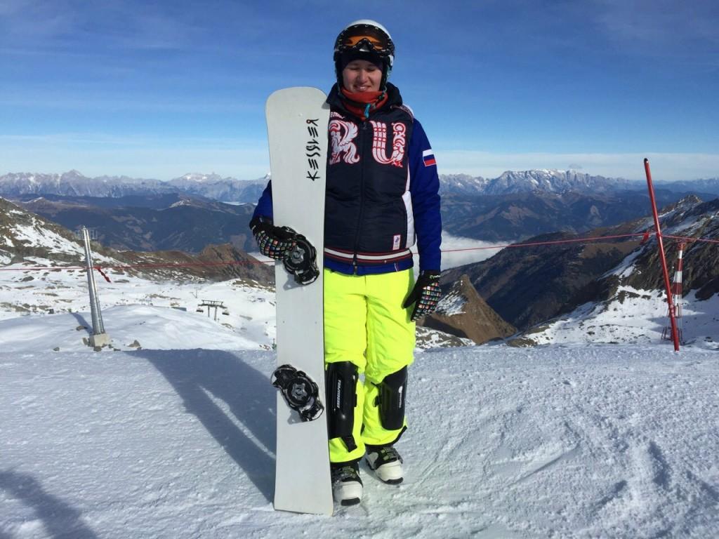 Мария Подоровская сноуборд