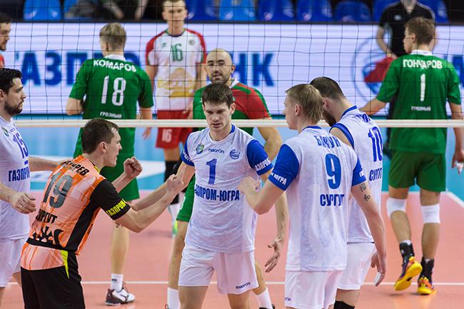 Газпром Югра Грозный матч в Сургуте