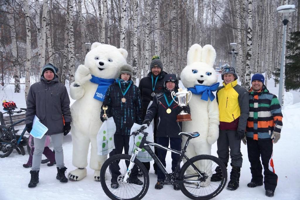 Кубок Югры по зимнему велосипеду в  дисциплине «маунтинбайк»