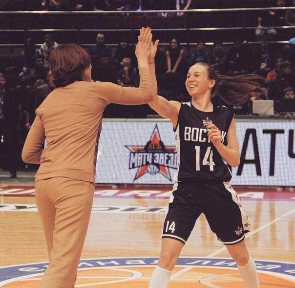 Яна Паневина баскетболистка из Сургута