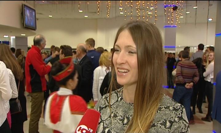 Дарья Домрачева интервью в Ханты-Мансийске