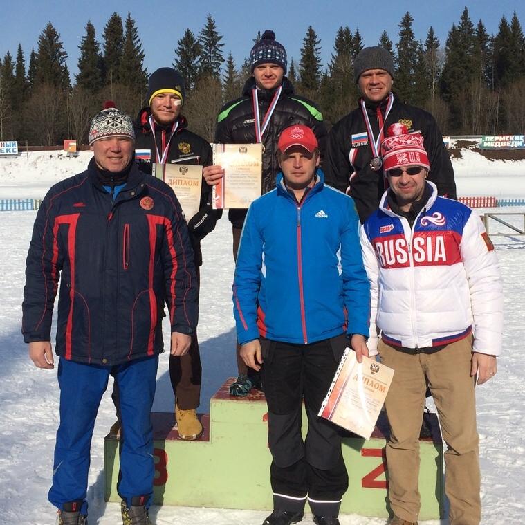 Награждение сурдлимпийцев лыжников