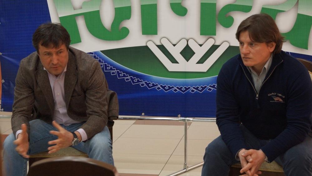 Андрей Бельмач и Андрей Потайчук Ханты-Мансийск