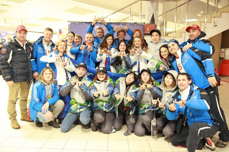 Сурдлимпийская сборная России 2015