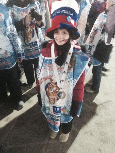 Девочка с золотой медалью Фуркада