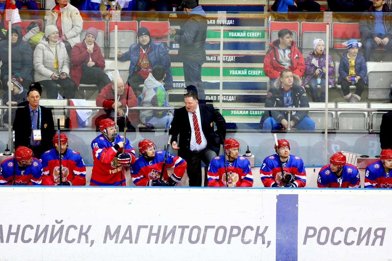 Сурдлимпийская сборная России по хоккею