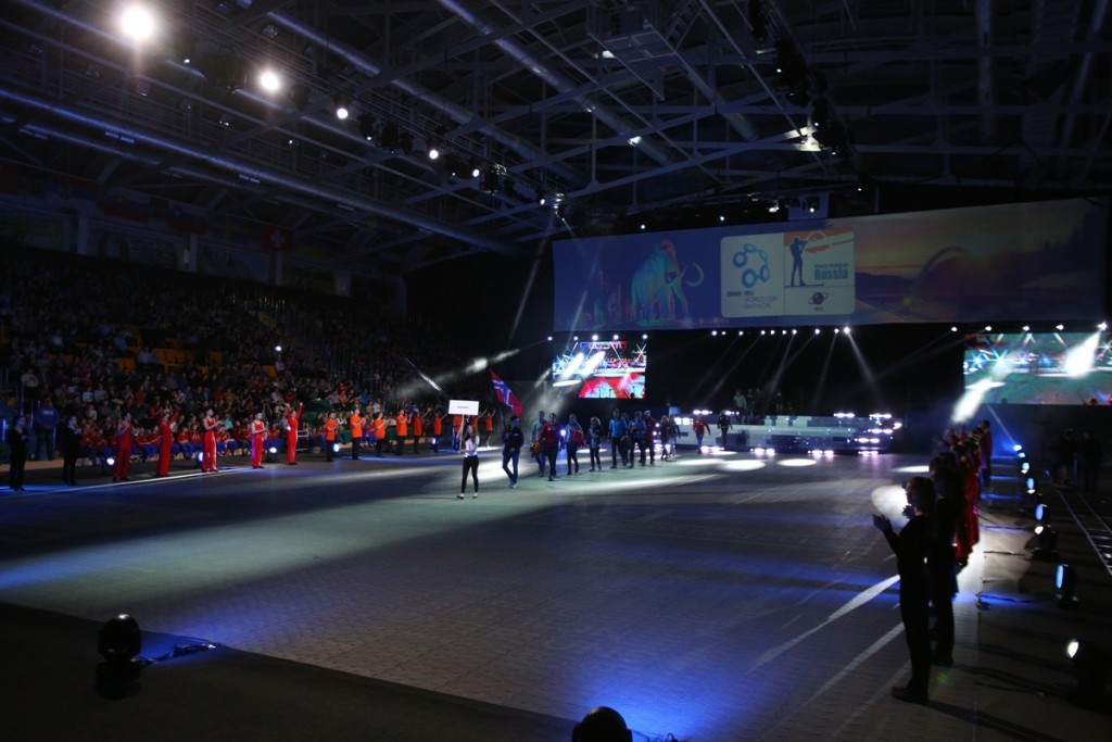 Сборная Норвегии по биатлону в Ханты-Мансийске