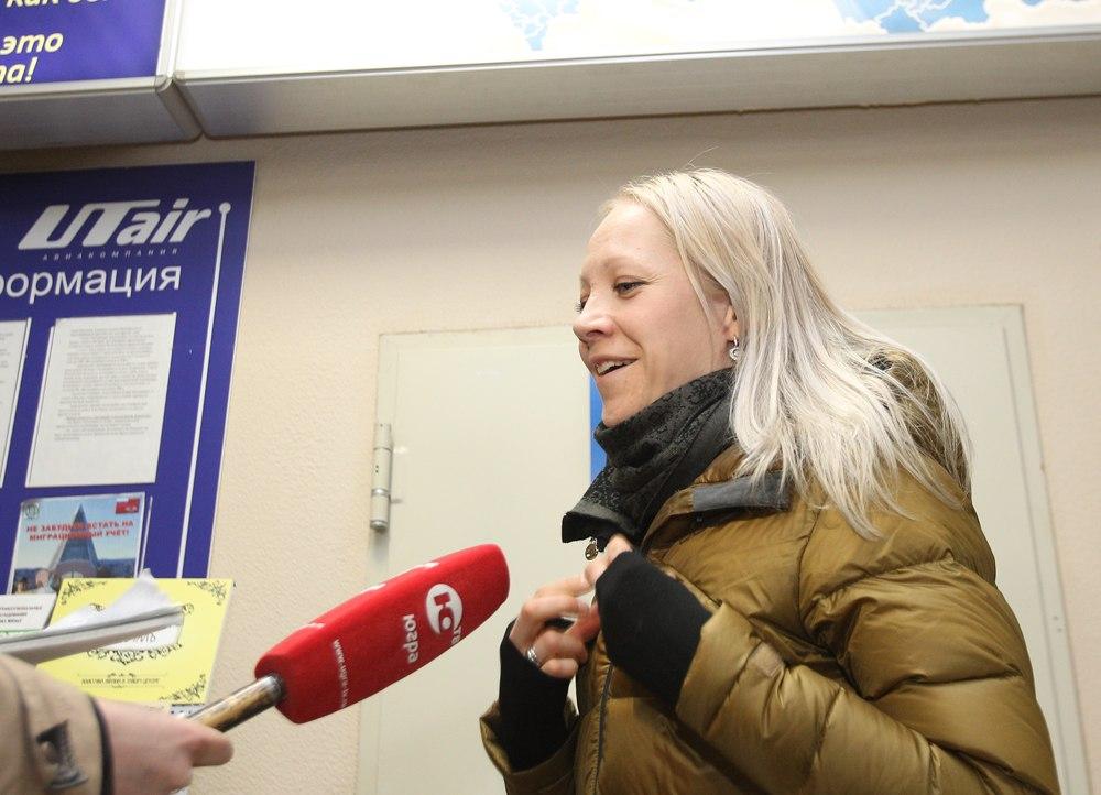Кайса Мякяряйнен в Ханты-Мансийске
