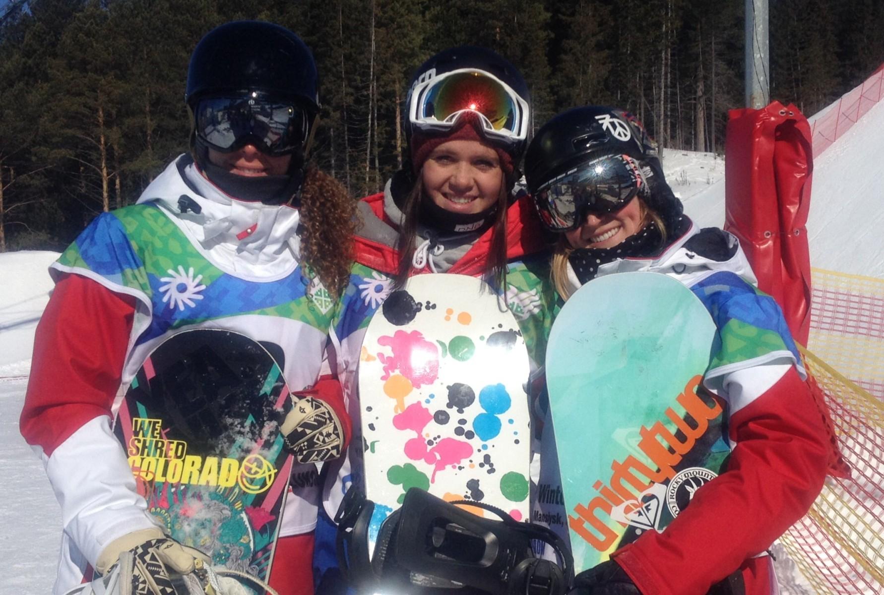 Сноубордистки Сурдлимпиада Ханты-Мансийск