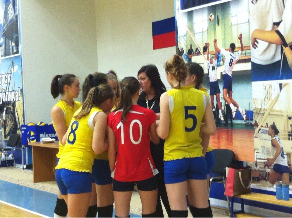 волейбол девушки юниорки ХМАО