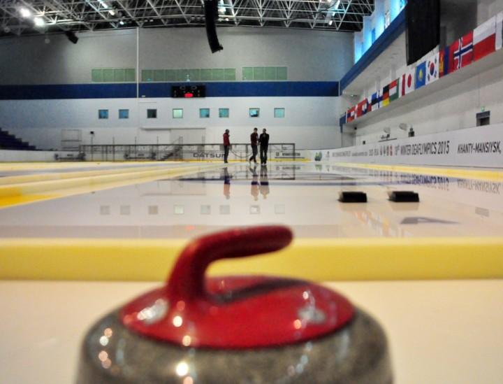 Керлинг в Ханты-Мансийске Сурдлимпиада