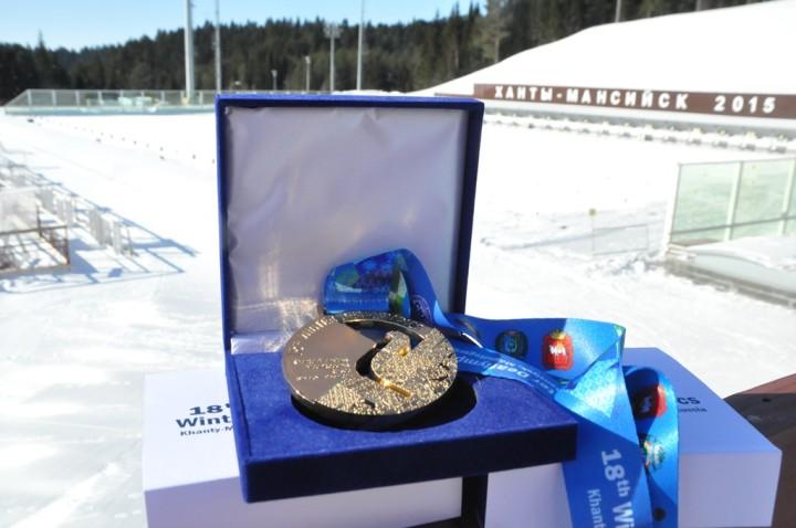 Медаль зимних Сурдлимпийских игр