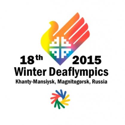 Logo Deaflympics 2015 Khanty-Mansiysk