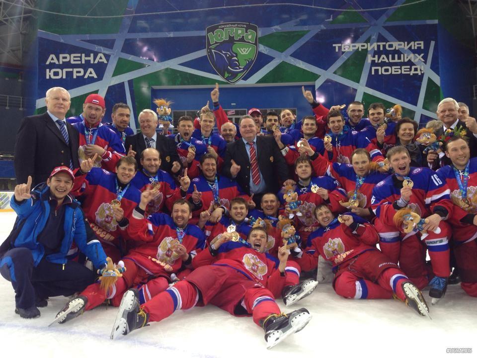сборная России по хоккею  стала первой на Сурдлимпийских играх