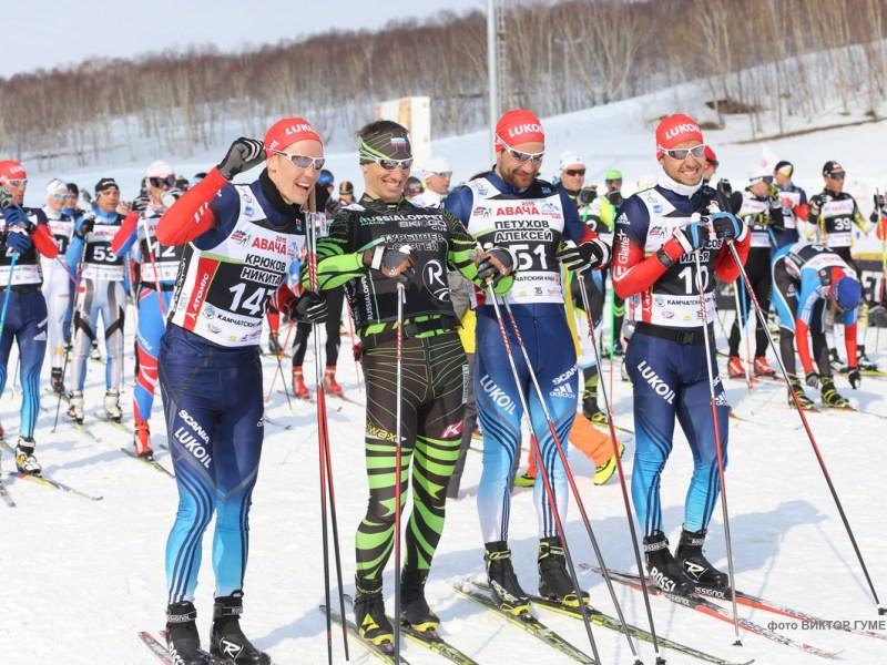 Авачинский марафон-2015 лыжники