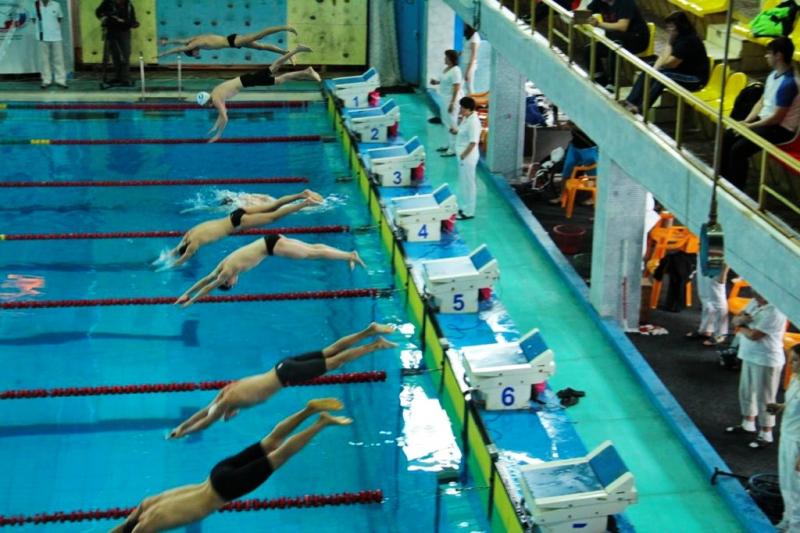 первенства России по плаванию среди спортсменов с поражением опорно-двигательного аппарата