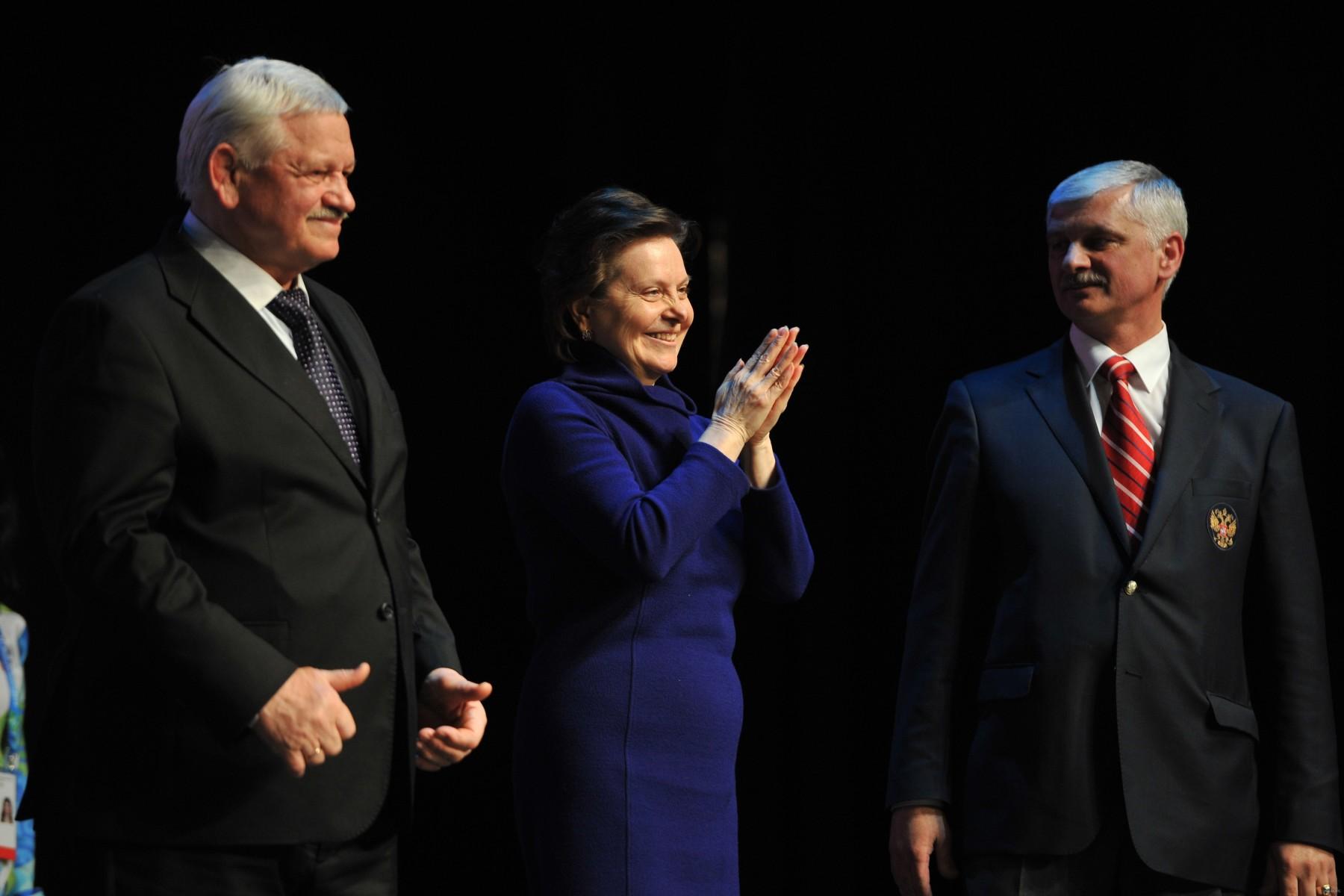 Официальные лица Сурдлимпийских игр Наталья Комарова