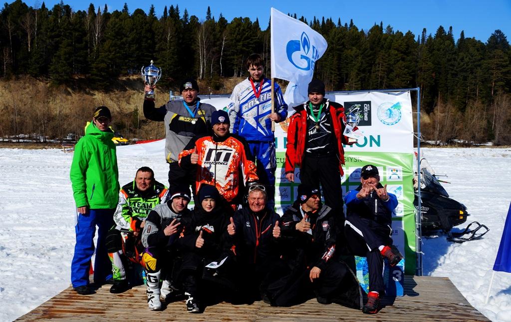 Церемония награждения прошла на открытом воздухе, победил Евгений Смолин.