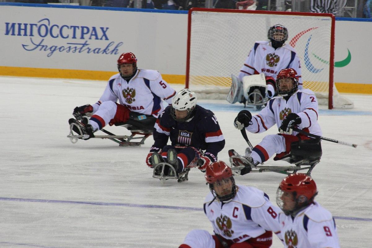 Следж хоккейная сборная России фото матча