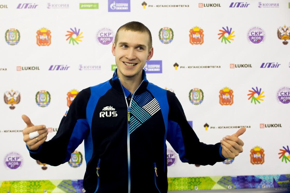 Скип сборной России Александр Пятков