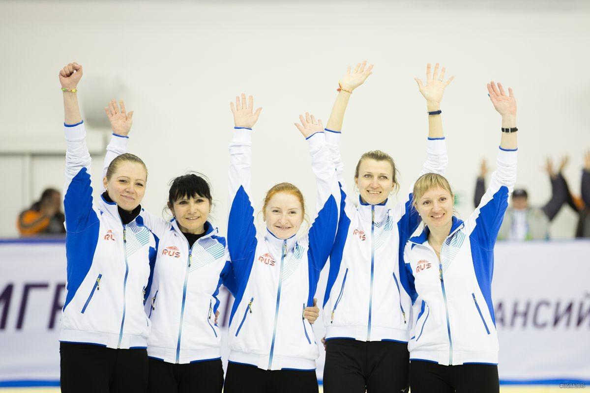 Сборная Россия по керлингу на Сурдлимпийских играх