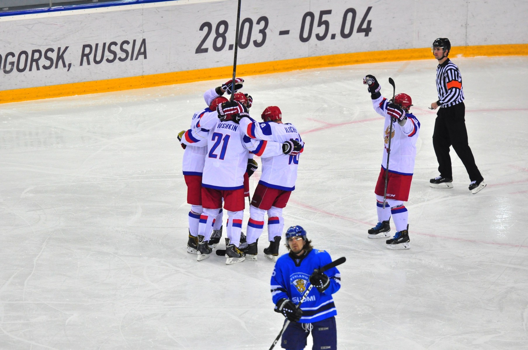 Хоккей Сурдлимпийские игры Россия Финляндия