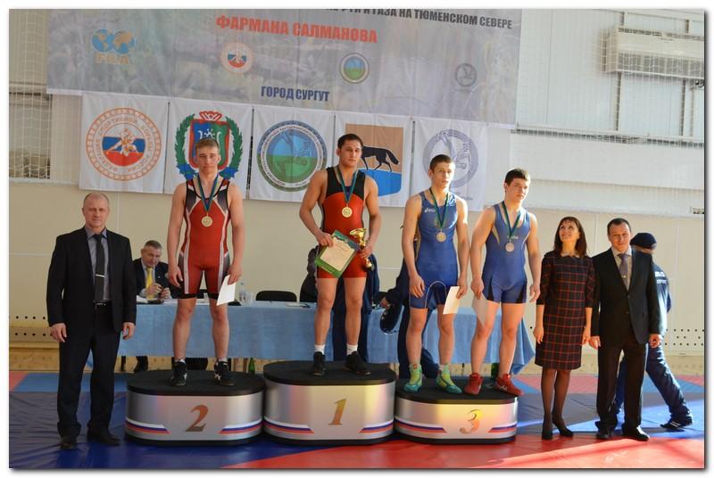 турнир по греко-римской борьбе памяти Фармана Салманова