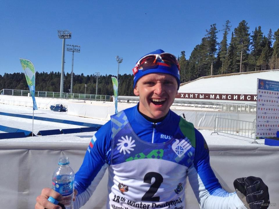 Заслуженный мастер спорта России Алексей Грошев