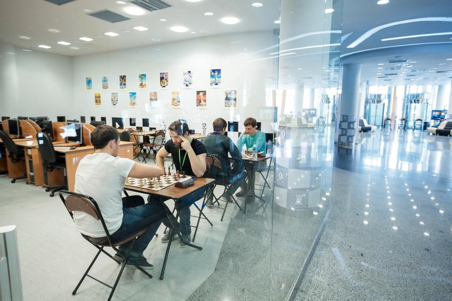 Шахматисты в Ханты-Мансийске