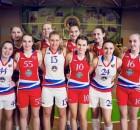 ФОто женской баскетбольной команды СурГУ