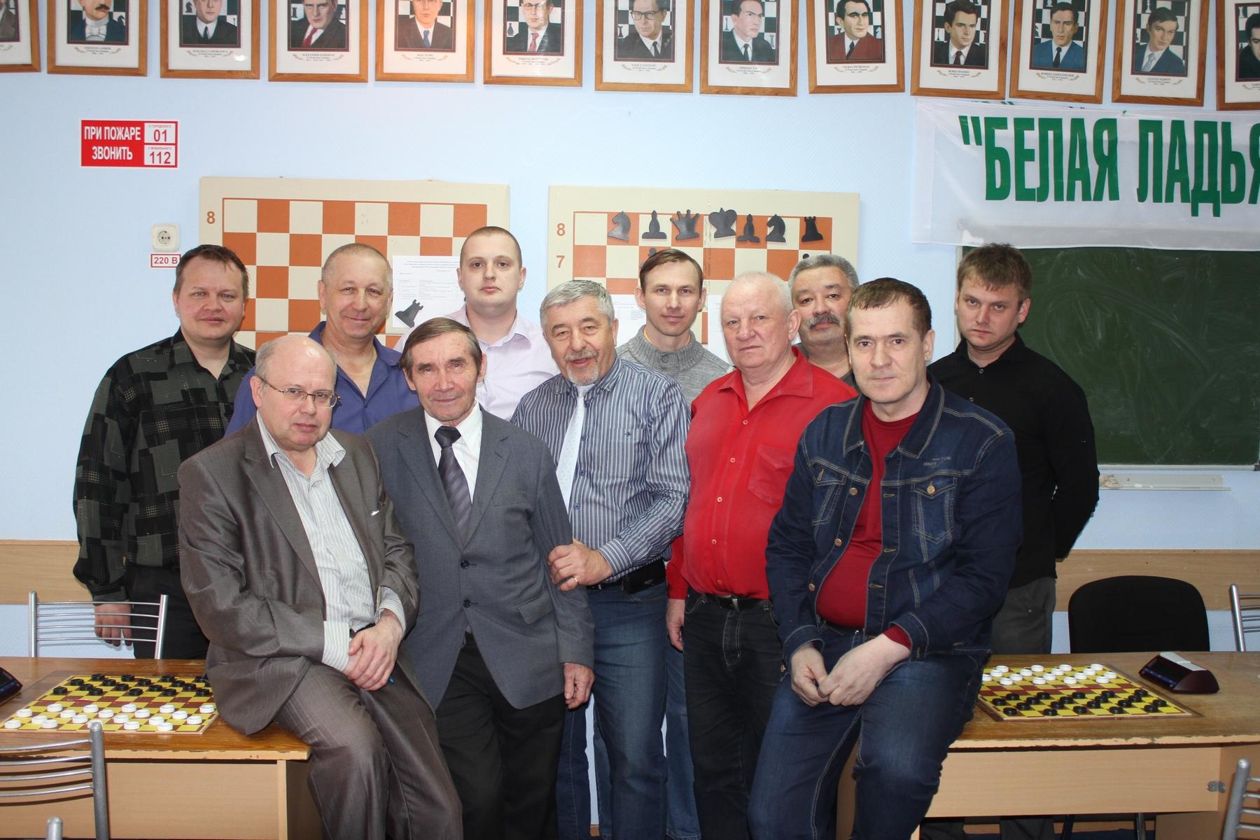 Чемпионат Сургута по шашкам среди мужчин